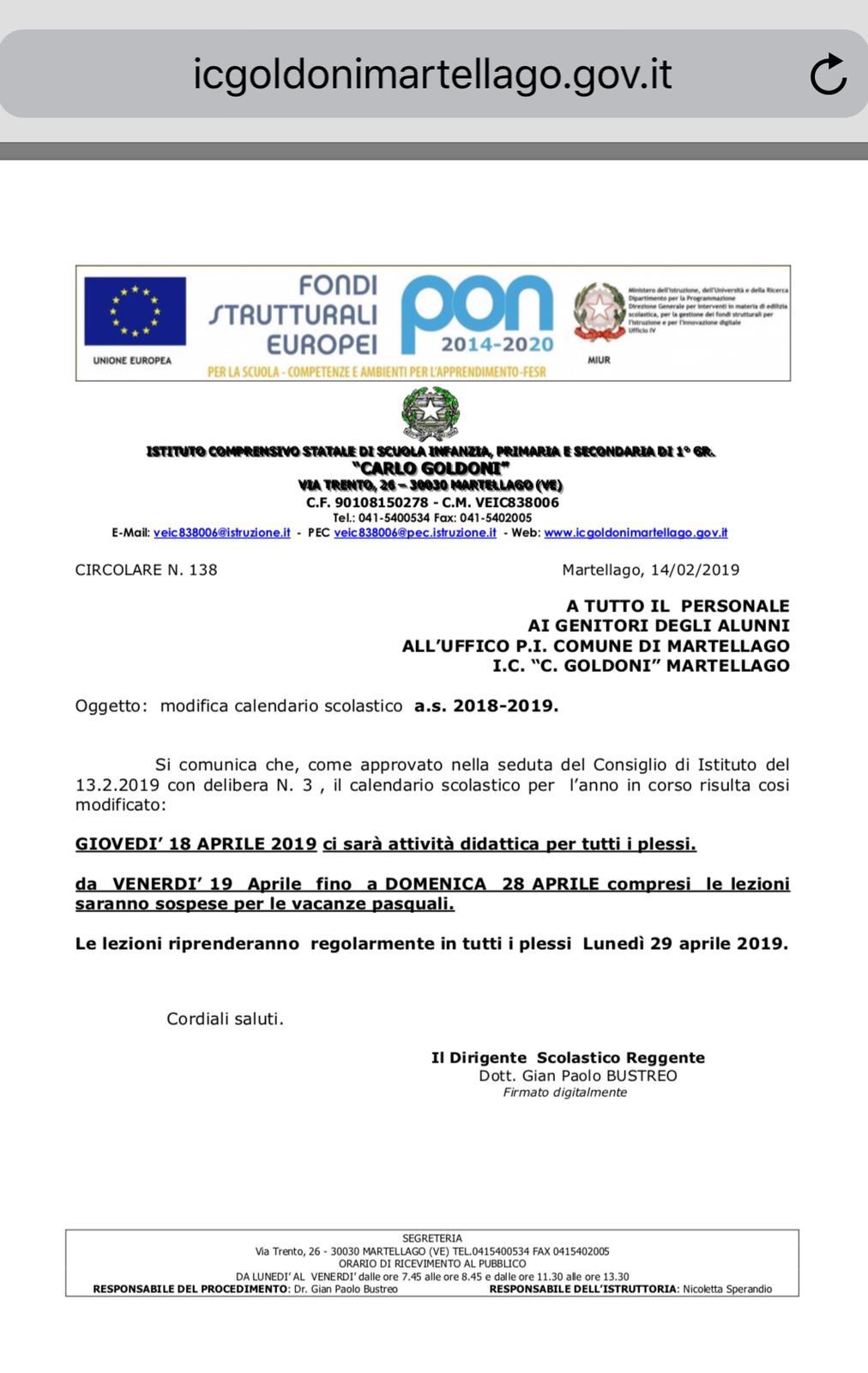 Calendario Scolastico 2020 20 Trento.Novita